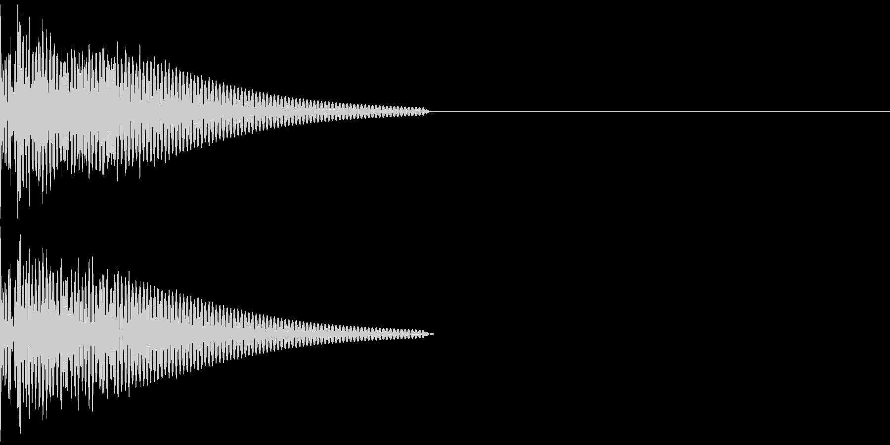 キック/壮大/広範囲/ドラム/低音/1Cの未再生の波形