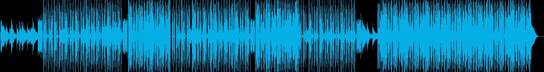 ヒップホップ。古いスタイルとサウンド。の再生済みの波形