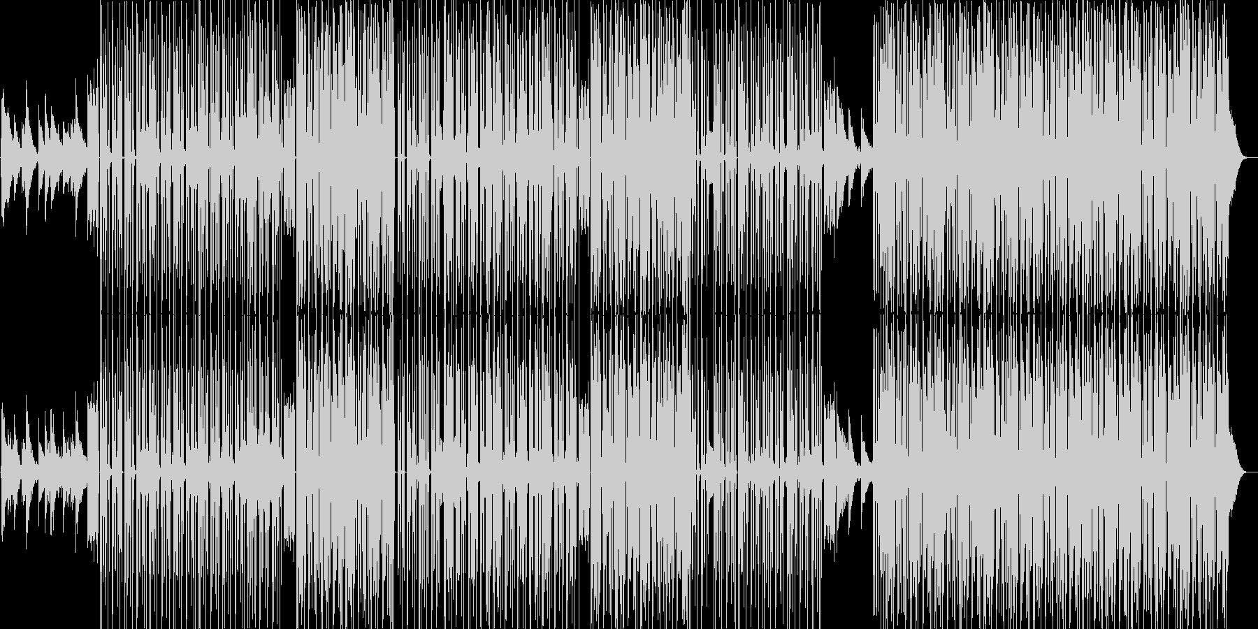 ヒップホップ。古いスタイルとサウンド。の未再生の波形