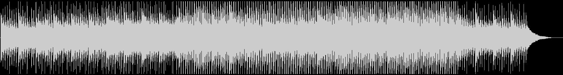 ピアノの静かなる高揚感の未再生の波形