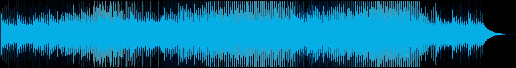 ピアノの静かなる高揚感の再生済みの波形