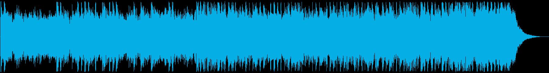ロック、メタル25秒ジングル リード抜きの再生済みの波形