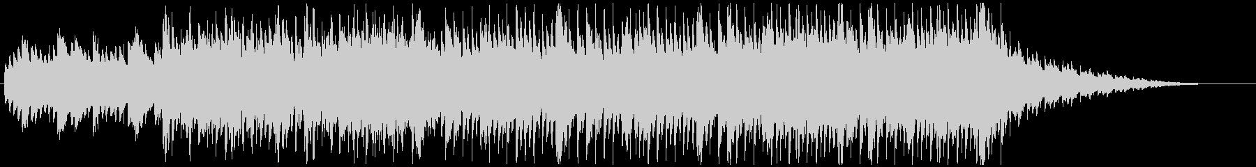 琴や三味線を用いた和風で軽快なノリの曲の未再生の波形