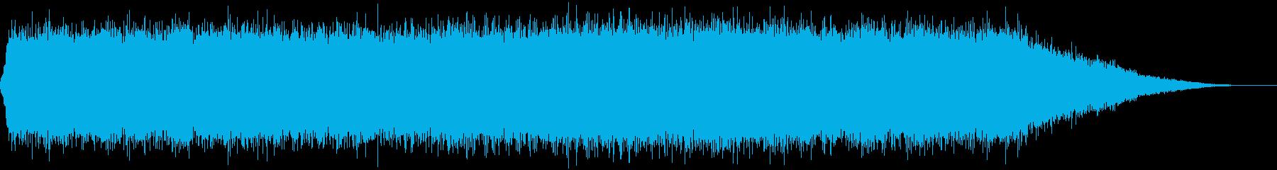 ガス放出2;定常ガス放出;ピッチが...の再生済みの波形