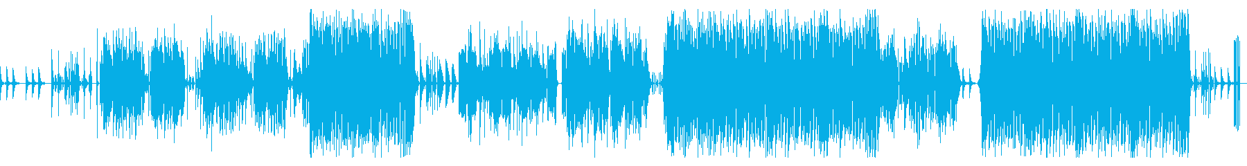 Kawaii系エレクトロ楽曲です。の再生済みの波形