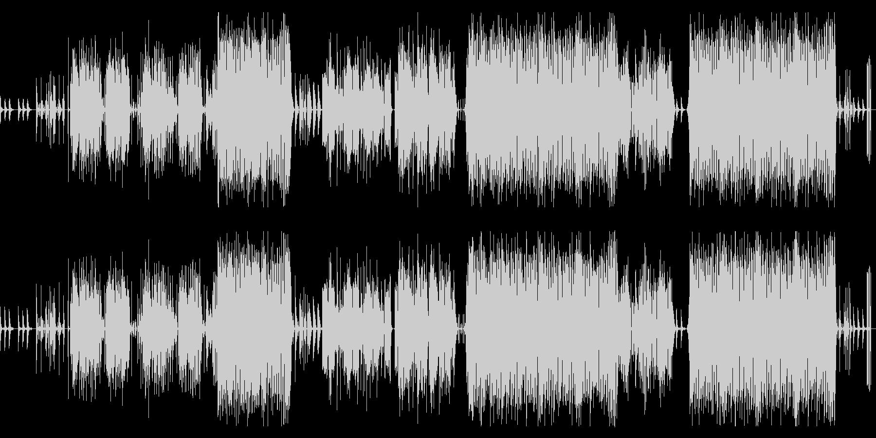 Kawaii系エレクトロ楽曲です。の未再生の波形