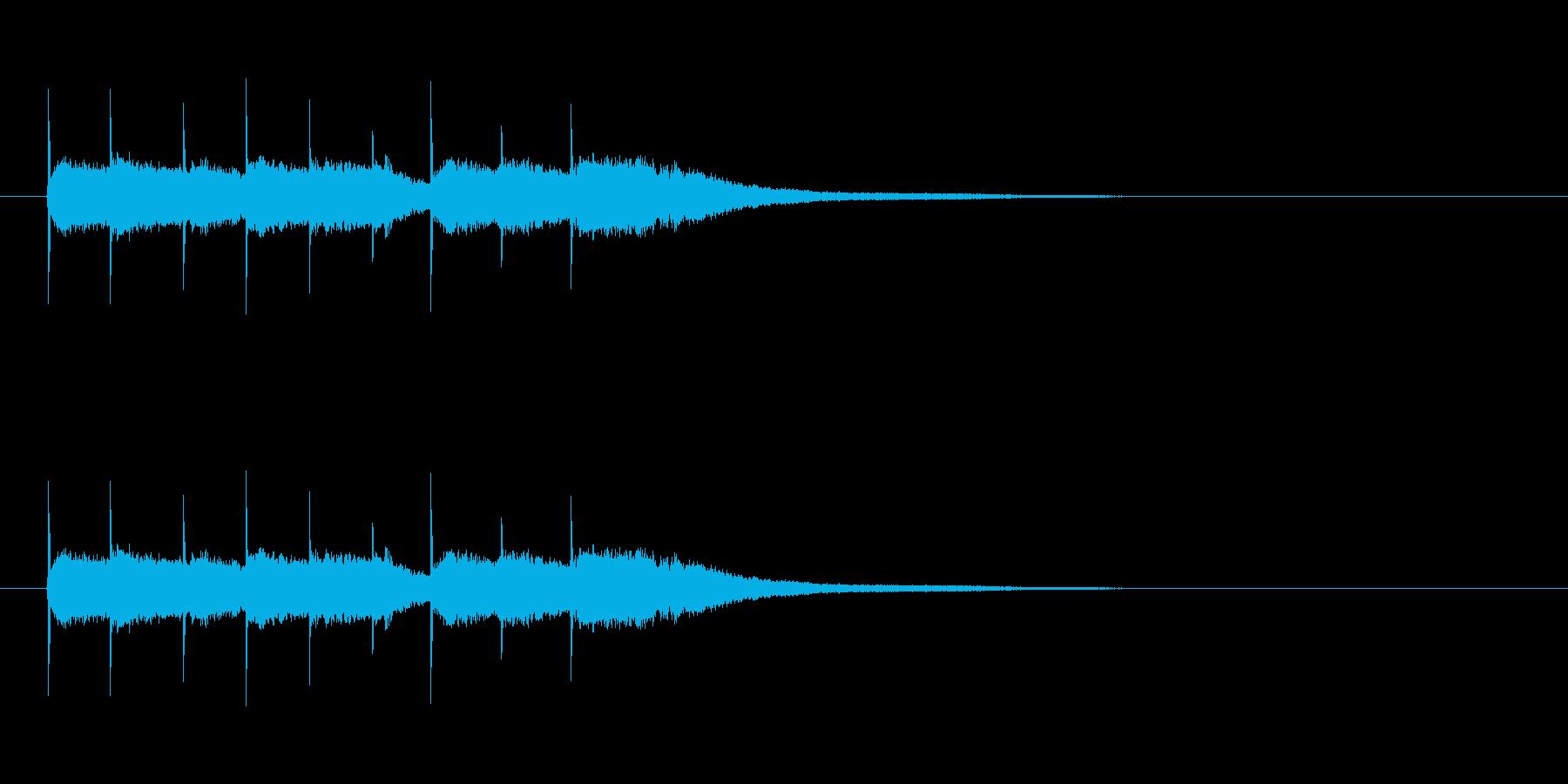 【競技用ゴング01-5】の再生済みの波形