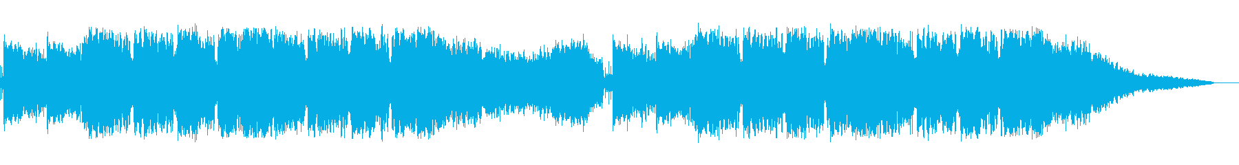 壮大で幻想的なインスト曲の再生済みの波形