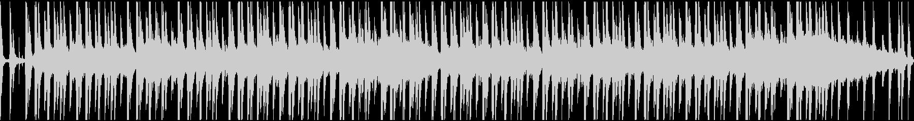 気怠いダブ系サウンドのループの未再生の波形