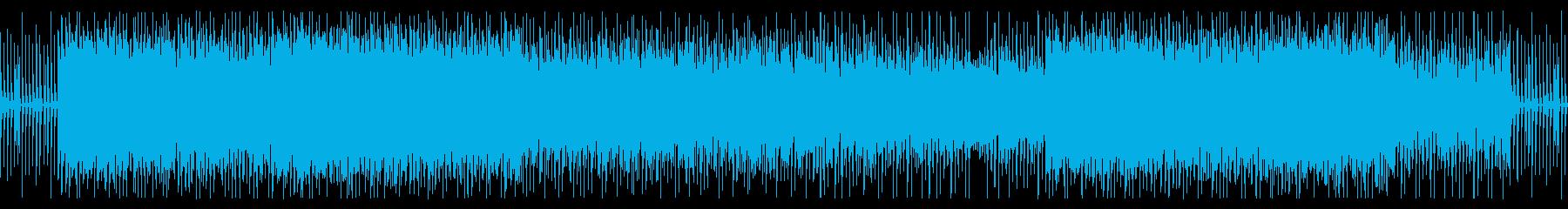 未来・宇宙・疾走感のあるEDM・ループの再生済みの波形