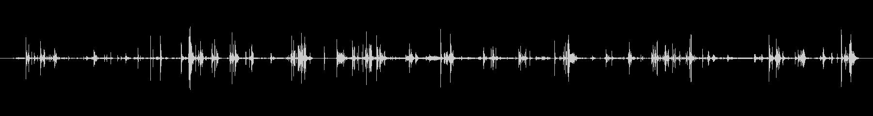 モンスター 肉食14の未再生の波形