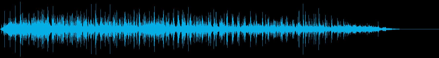 フラメンコ音楽-ナイトクラブ1の再生済みの波形