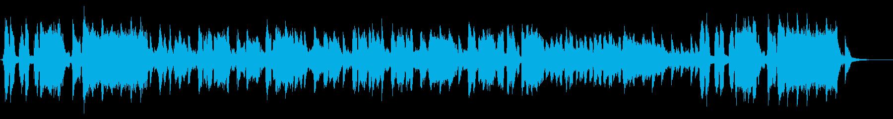 山芋をテーマにした楽曲の再生済みの波形
