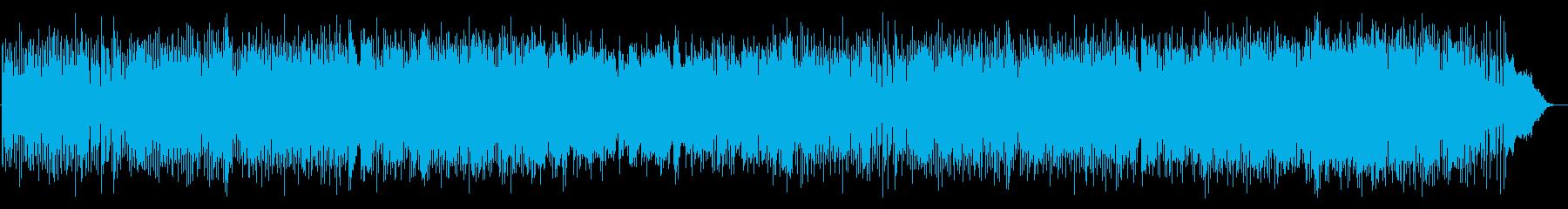 ツインギターのポップなフュージョンの再生済みの波形