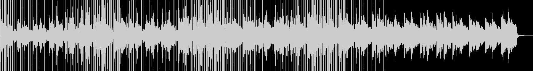 【チルアウト】和風LoFiヒップホップの未再生の波形