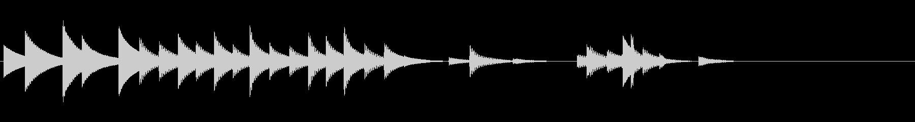 南部風鈴の音03(連続)の未再生の波形