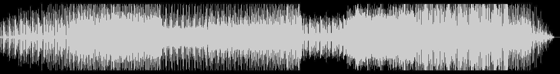 シンプルなグリッジエレクトロニカの未再生の波形