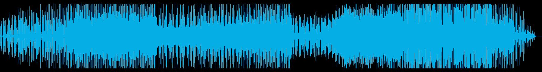 シンプルなグリッジエレクトロニカの再生済みの波形