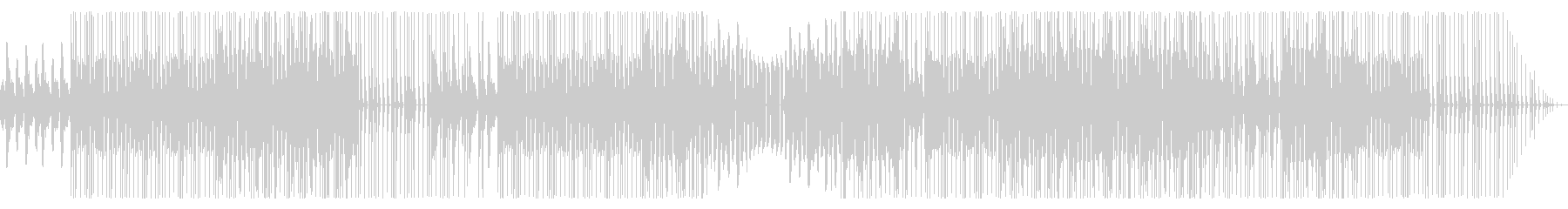 Mumble rapっぽいBGMの未再生の波形