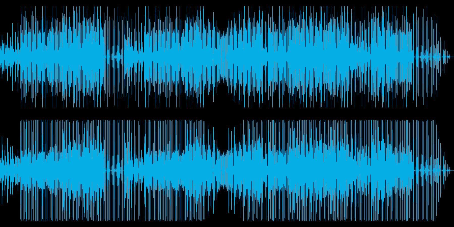 Mumble rapっぽいBGMの再生済みの波形