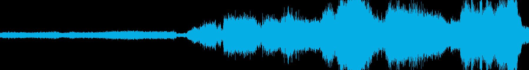 圧力鍋の再生済みの波形
