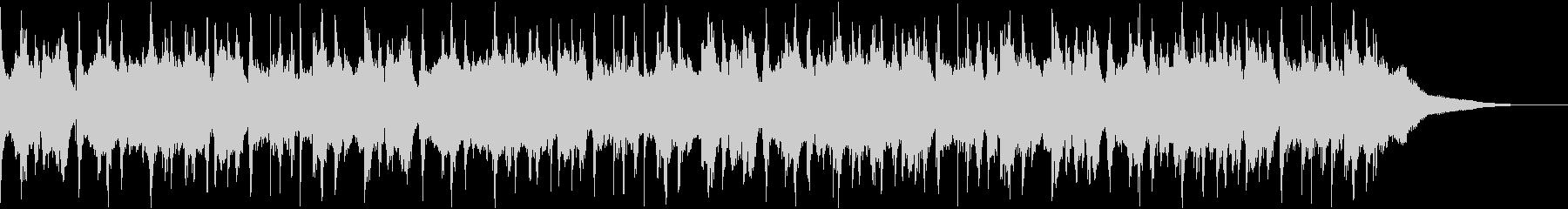 ウクレレとギターのポップスの未再生の波形