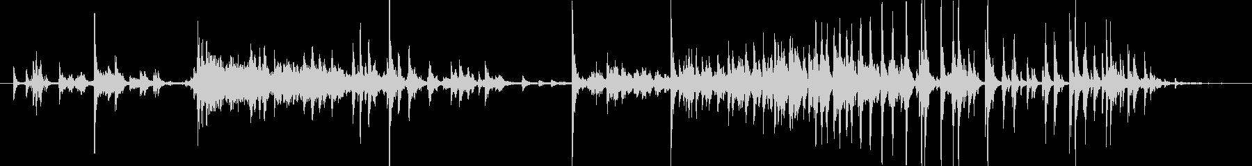 メタル クリークストレスミディアム03の未再生の波形
