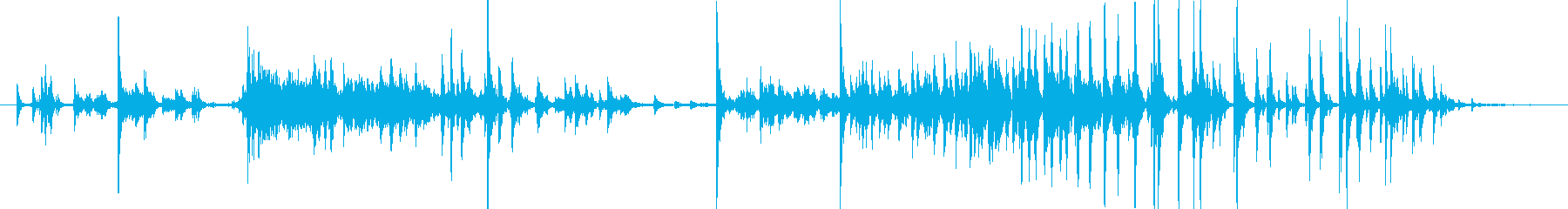 メタル クリークストレスミディアム03の再生済みの波形