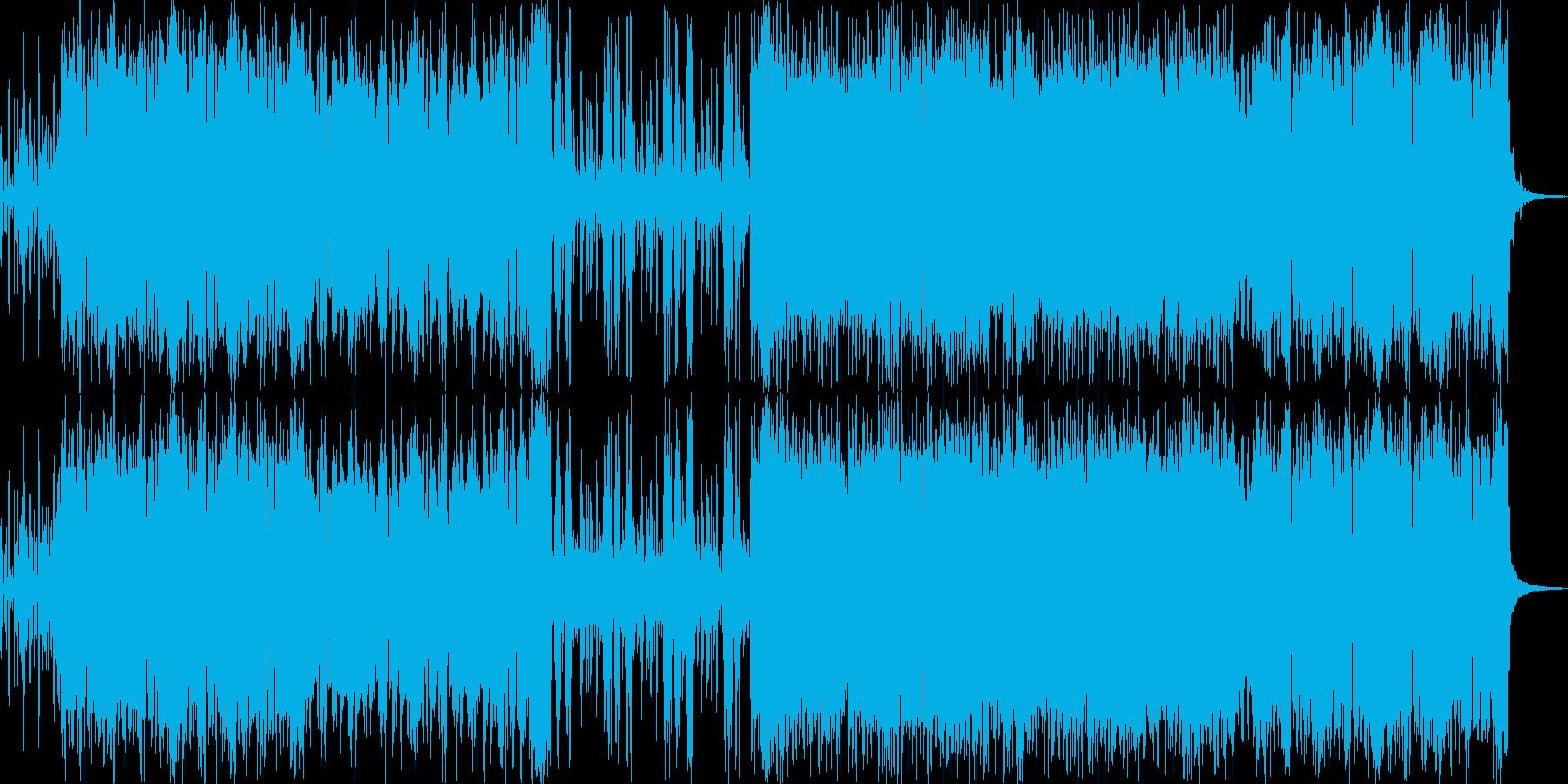 激しめでちょっとレトロなアイドル楽曲・…の再生済みの波形