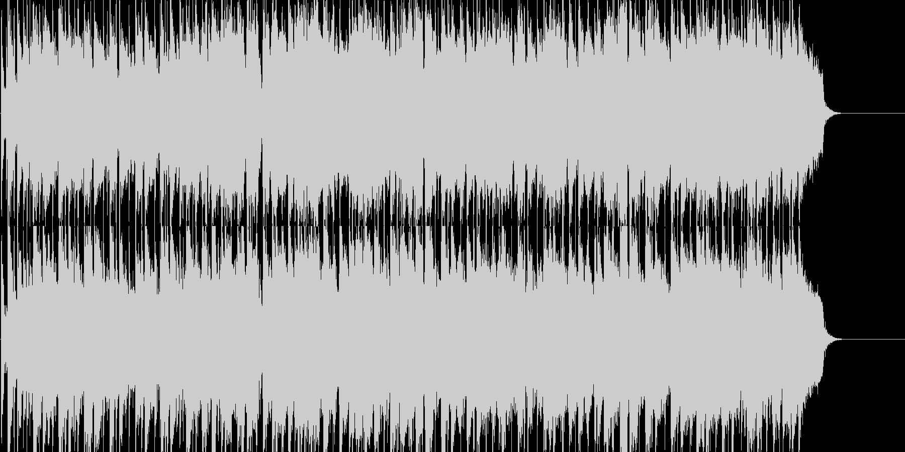 シンセリードが主旋律の優しいポップの未再生の波形