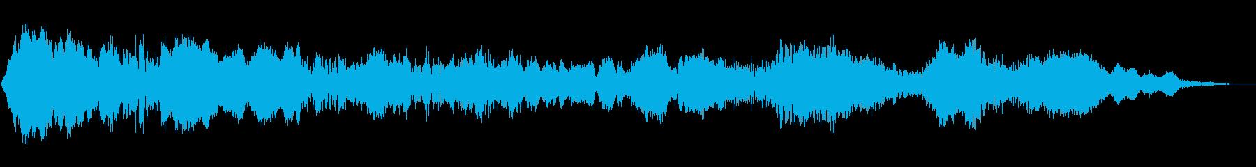 面白いワーブルスクラッチの再生済みの波形
