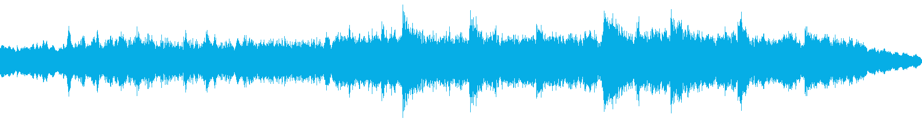 明るく陽気なシンセによる抽象的な電...の再生済みの波形