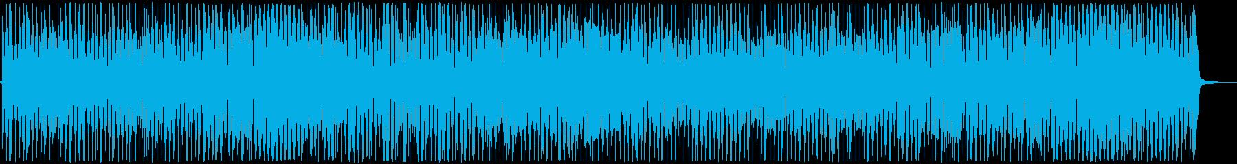 ダンスボールルーム。ブルース。の再生済みの波形