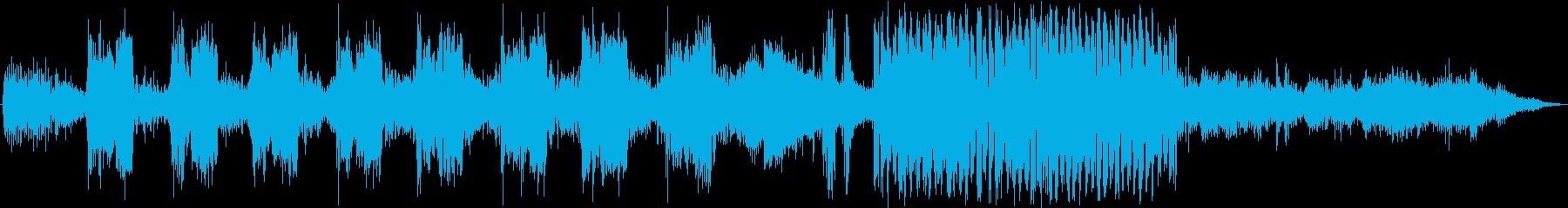 ラジオプロダクションシーン:ロボッ...の再生済みの波形