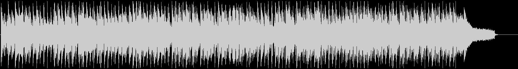 ほのぼの明るいピクニック系リコーダー曲の未再生の波形