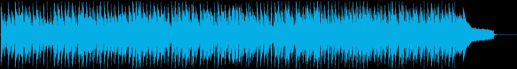 ほのぼの明るいピクニック系リコーダー曲の再生済みの波形