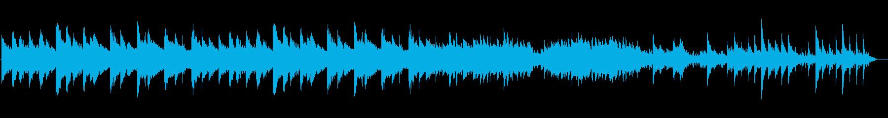 清涼感のある感動系ピアノの伴奏の再生済みの波形
