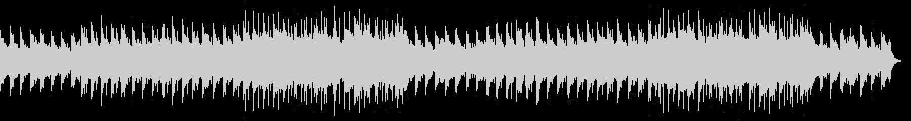 幻想的な映像、フェルトピアノとアコギ6の未再生の波形