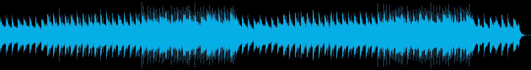 幻想的な映像、フェルトピアノとアコギ6の再生済みの波形