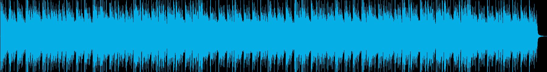 秋の穏やかさを出したシンプルなアコギの再生済みの波形