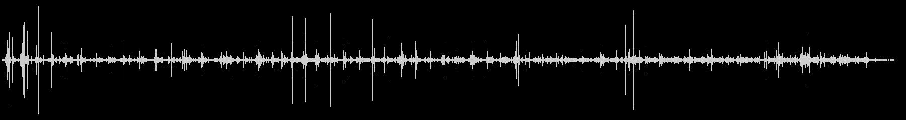 アフリカ紋付きヤマアラシ:ハードフ...の未再生の波形