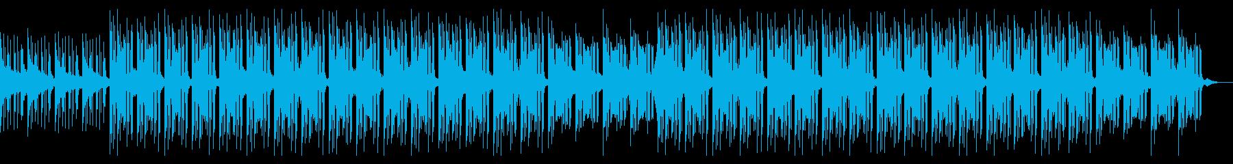 推理サスペンス シンプル ミステリー劇伴の再生済みの波形