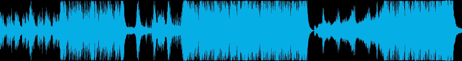 妖しいダークファンタジー和風ループの再生済みの波形
