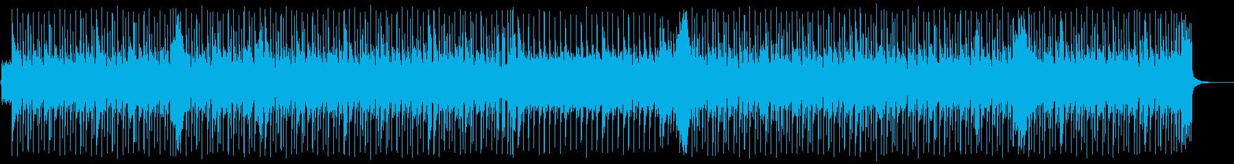 四つ打ちの怪しいイメージの再生済みの波形