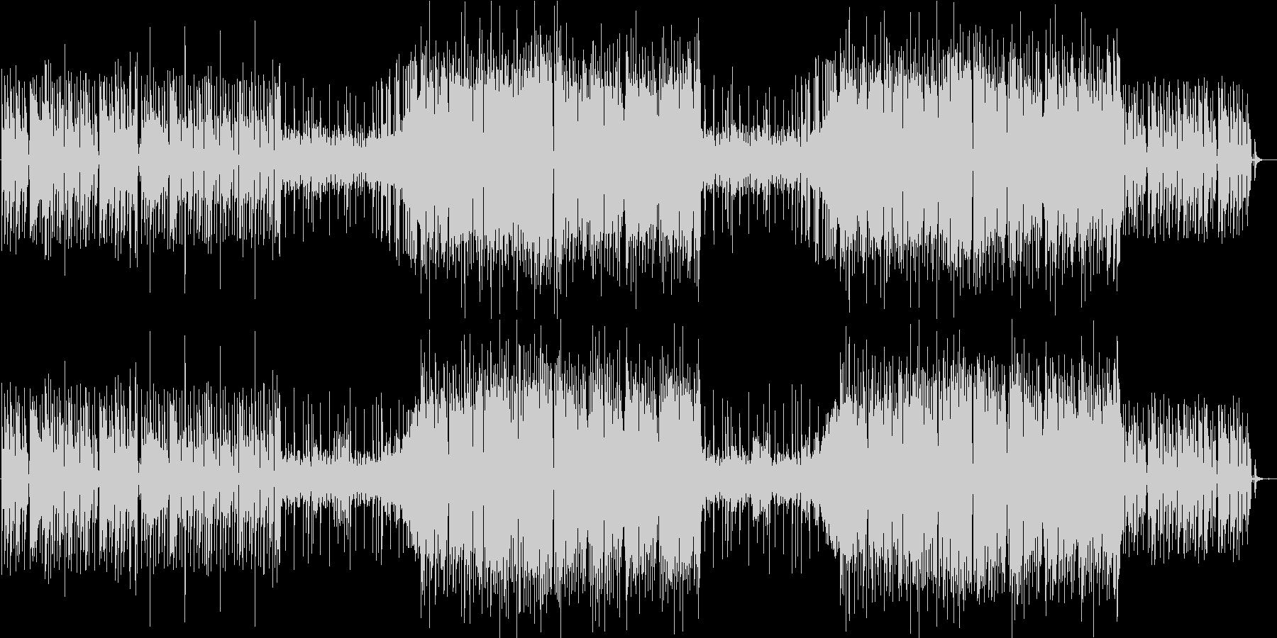 インパクト個性的かっこいいレゲトンEDMの未再生の波形