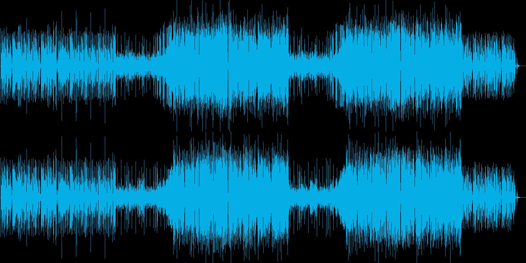 インパクト個性的かっこいいレゲトンEDMの再生済みの波形