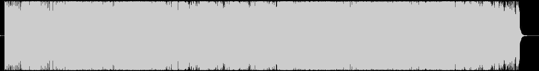 変拍子和風ハードロックインストの未再生の波形