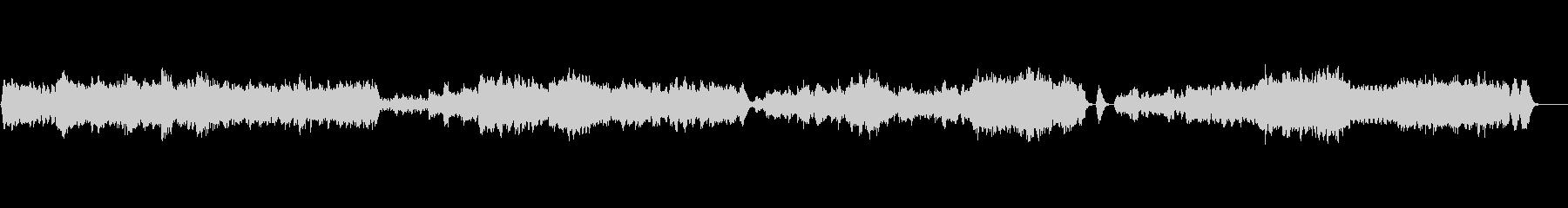 ベートーヴェン シンフォニーの未再生の波形