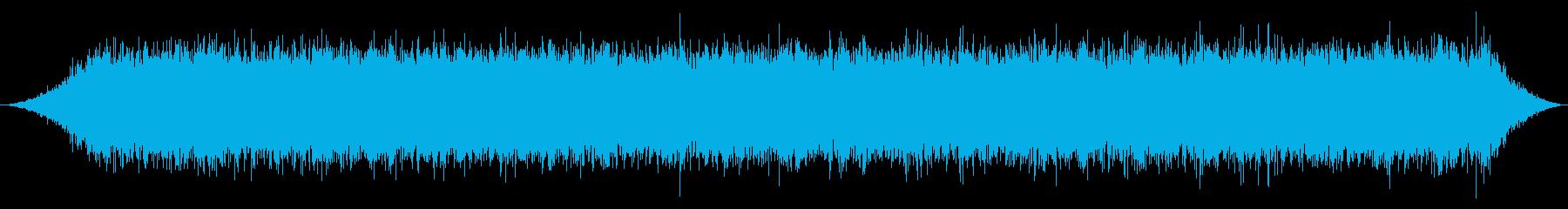 窓のエアコン:実行中の再生済みの波形