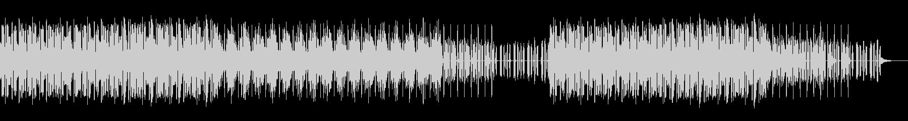 かわいいエレクトロな曲の未再生の波形